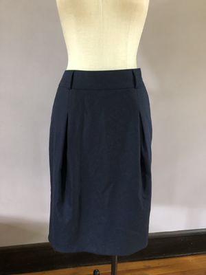 Angora and cashmere navy blue Burberry skirt. Size US8. Hardly worn. for Sale in Yonkers, NY