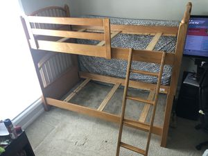 Wooden Bunk Bed for Sale in Bluffton, SC