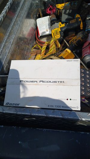 Power acoustik for Sale in Iron Station, NC