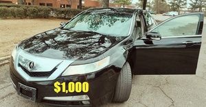 🍁🍁price$1OOO I'm selling 2OO9 Acura TL 🍁🍁 for Sale in Los Angeles, CA