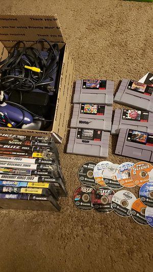 Nintendo Gamecube & Super Nintendo stuff for Sale in El Cajon, CA