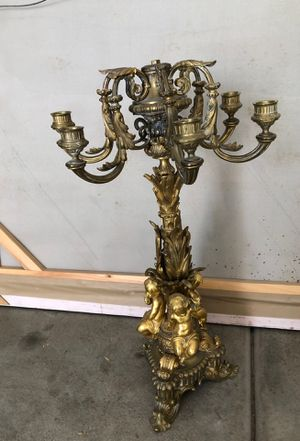Pair of antique candelabra. for Sale in Las Vegas, NV