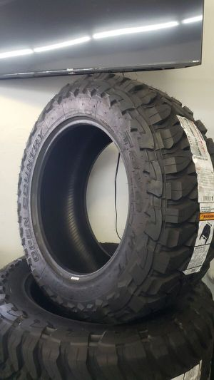 Brand new set of toyo Open contry mud terrain 37 1350 22 lt for Sale in Phoenix, AZ