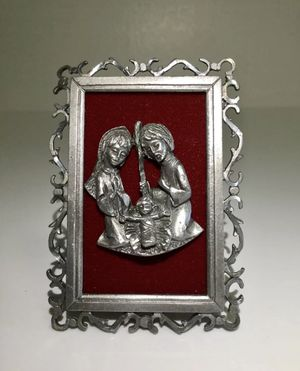 Vintage Rare Framed Plaque Holy Family Jesus, Italy for Sale in Brooklyn, NY