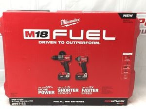 Milwaukee 2997-22 Hammer Drill/Driver & Impact Drive Combo Set (MXP01300) for Sale in Lakeland, FL