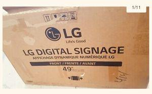 LG Digital signature TV 49 inches for Sale in Park Ridge, IL