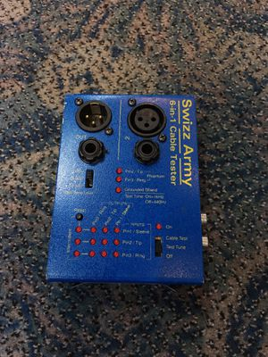 Swizz Army Cable Teater 6 in 1 pro audio BCP006307 for Sale in Huntington Beach, CA