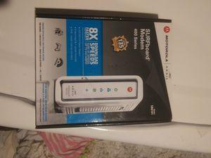 Motorola SURFboard modem 400 series for Sale in Castle Rock, CO