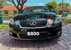 💪Lexus GS 2010 clean title (by owner)-$800 for Sale in Hartford, CT