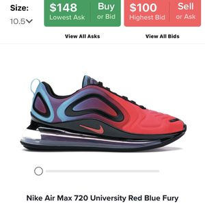 Nike Air Max 720 University Red Blue Fury for Sale in Lake Stevens, WA