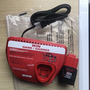 Milwaukee M12 2ah Battery and Charger for Sale in Irving, TX