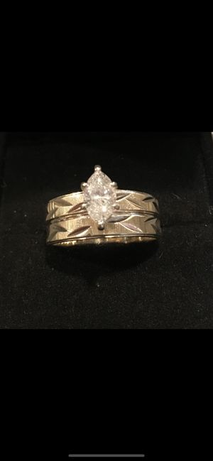 .90 CT size 7 women's wedding ring with diamond appraisal for Sale in Conway, AR
