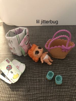 LOL Surprise Little Sisters Series 2 lil jitterbug for Sale in Newton, MA