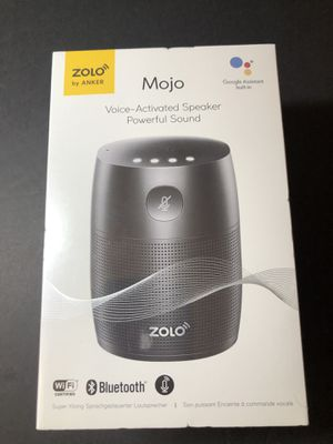 Mojo voice activated speaker by anker for Sale in Chandler, AZ