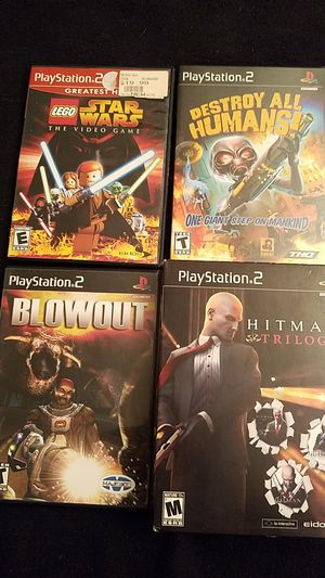 6 playstation games all for 25 for Sale in Ontario, CA
