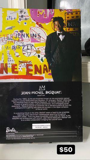 Jean Michel Basquiat Doll for Sale in Jonesboro, GA