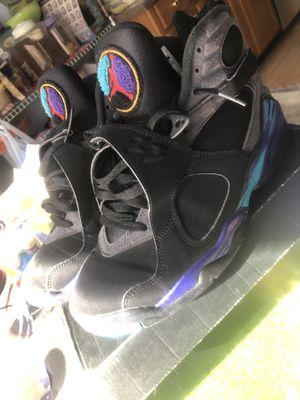 Jordan retro 8 2015 Aqua size 8.5 for Sale in Springfield, VA