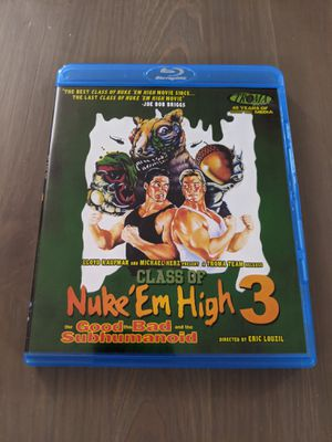 Troma Nuke 'em High 3 BluRay for Sale in Los Angeles, CA