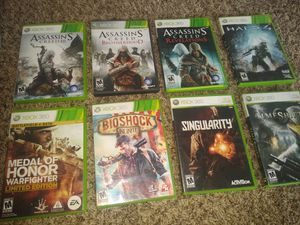 Assorted Xbox 360 games for Sale in Paducah, KY