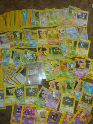 Pokemon cards vintage with shiny kabutops for Sale in Albuquerque, NM