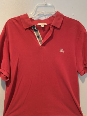 Burberry Brit (extra large) men's red short sleeve polo for Sale in San Diego, CA