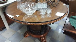 Beautiful Glass Top Dining Room Table for Sale in Poway, CA