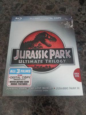 Jurassic Park Trilogy Blu Ray Box Set for Sale in Elkton, VA