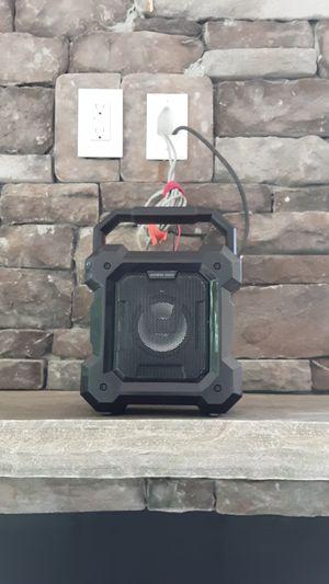 Sharper image ruckus portable bluetooth speaker for Sale in Sugar Hill, GA