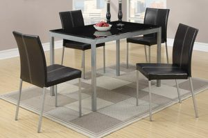 Brand New 5pc Dining Table Set for Sale in Fontana, CA