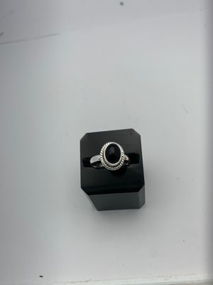 Black Tourmaline Sterling Silver Ring for Sale in Land O Lakes, FL