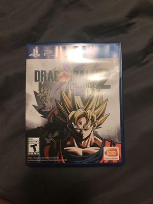 PS4 Dragon Ball Xenoverse 2 for Sale in Menomonie, WI