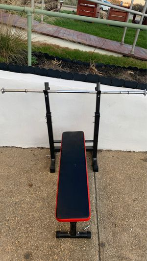 "Bench Press with 1"" Bar for Sale in Ocean Grove, NJ"