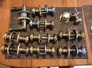 Set of 10 indoor door knobs for Sale in Lynchburg, VA