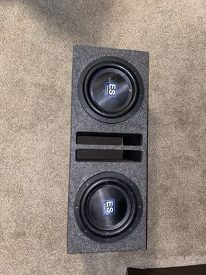 Es American bass subwoofers for Sale in Thornton, CO