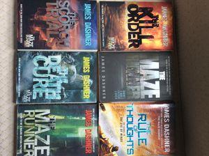 Maze runner book series for Sale in Moline, IL