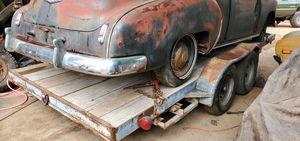 Car hauler traila para carros for Sale in Mount MADONNA, CA