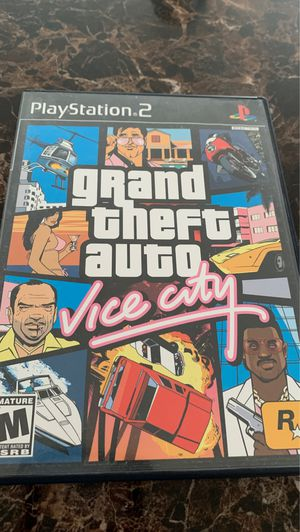 PlayStation 2 Game Grand Theft Auto Vice City for Sale in Stafford, VA