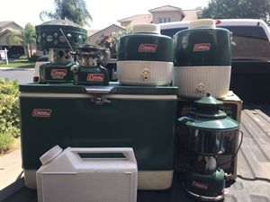 Coleman cooler and etc for Sale in Modesto, CA