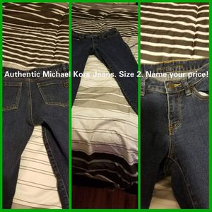 Authentic Michael Kors size 2 jeans. for Sale in Lackawanna, NY