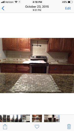 Mosaic tile, mother of pearl for Sale in Tampa, FL