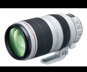 Canon 100-400mm f4.5-5.6L is Li Usm for Sale in Anchorage, AK