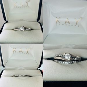 Diamond Engagement Ring & Diamond Wedding Band for Sale in Carson, VA