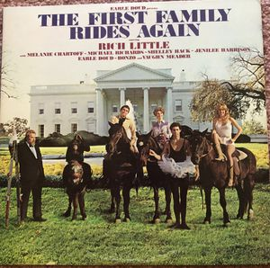 "Rich Little Comedy ""The First Family Rides Again"" Vinyl Album $6 for Sale in Ringgold, GA"