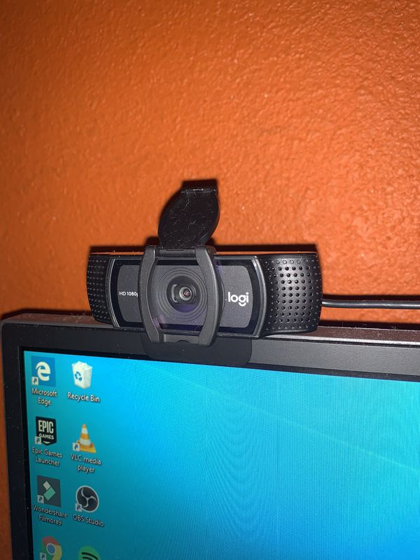 Logitech C920S HD Pro Webcam with Privacy Shutter