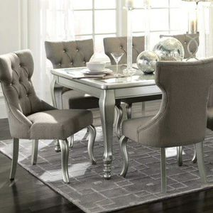 9 PIECE DINING ROOM SET / IN STOCK FAST DELIVERY for Sale in Arlington, VA