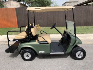 2013 EZGO TXT 48 Volt Electric Golf Cart with Rear Seat for Sale in San Antonio, TX