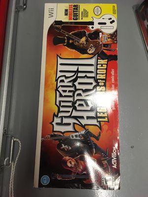Wii Guitar Hero III - Legends of Rock for Sale in Arlington, VA