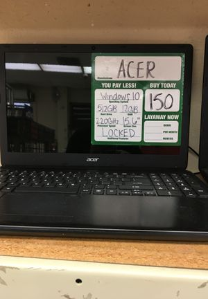 Acer laptop for Sale in Pasadena, TX