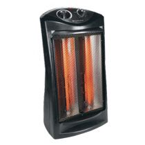 E Electric Heaters Comfort Zone CZQTV007BK Fan-Assisted Tower Radiant Quartz Heater for Sale in De Valls Bluff, AR