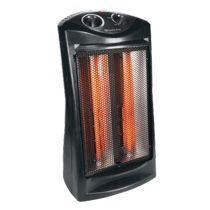 E Electric Heaters Comfort Zone CZQTV007BK Fan-Assisted Tower Radiant Quartz Heater for Sale in De Valls Bluff, AR